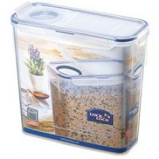 Lock & Lock Food Storage Container - Rectangular with Flip Top Lid - 3.4L (237 x 112 x 219mm)